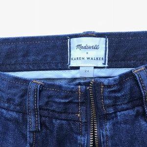 228faff54fb8 Madewell Jeans - Madewell x Karen Walker Blazar Zip Wide-Leg Jeans